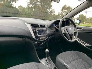 2016 Hyundai Accent RB4 Active Silver Constant Variable Sedan