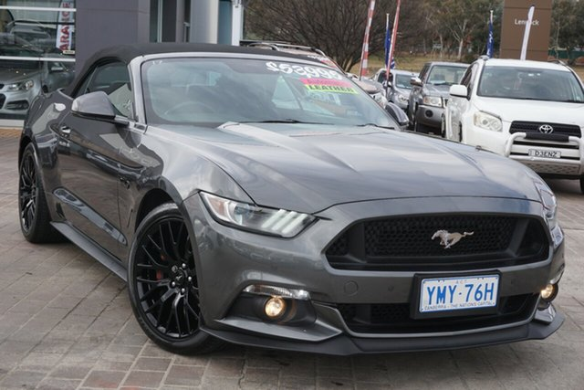 Used Ford Mustang FM GT SelectShift Phillip, 2016 Ford Mustang FM GT SelectShift Grey 6 Speed Sports Automatic Convertible