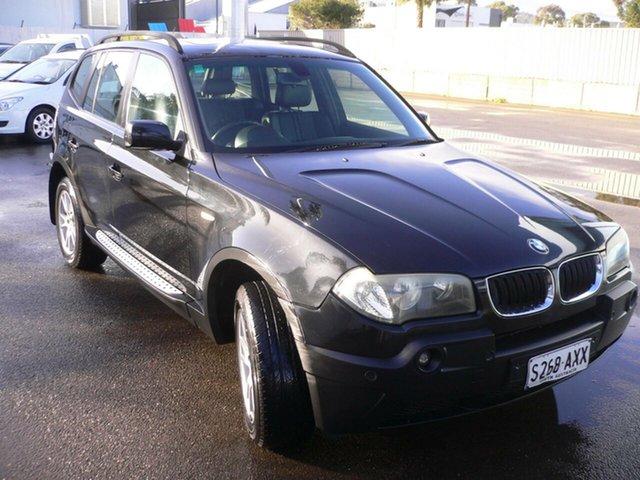Used BMW X3 E83 MY05 Steptronic St Marys, 2004 BMW X3 E83 MY05 Steptronic Black 5 Speed Sports Automatic Wagon