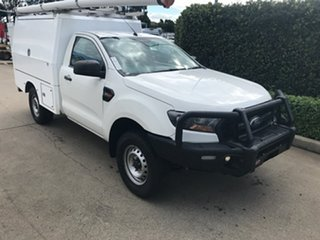 2016 Ford Ranger PX MkII XL Cool White 6 speed Automatic Cab Chassis.