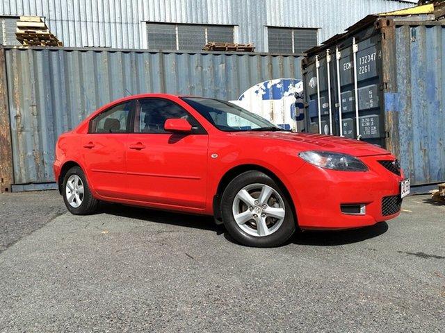 Used Mazda 3 BK10F2 Maxx Slacks Creek, 2007 Mazda 3 BK10F2 Maxx Red 4 Speed Sports Automatic Sedan