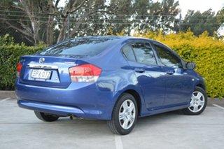 2009 Honda City GM MY09 VTi Blue 5 Speed Automatic Sedan