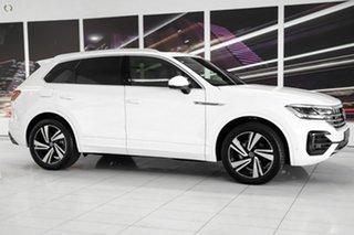 2021 Volkswagen Touareg CR MY21 210TDI Tiptronic 4MOTION R-Line White 8 Speed Sports Automatic Wagon