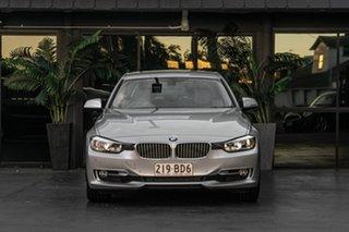 2012 BMW 3 Series F30 328i Silver 8 Speed Sports Automatic Sedan.