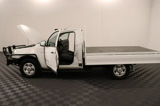 2014 Holden Colorado RG MY14 DX White 6 speed Manual Cab Chassis