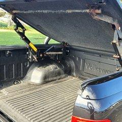2011 Volkswagen Amarok 2H TDI400 4Mot Trendline Black 6 Speed Manual Utility