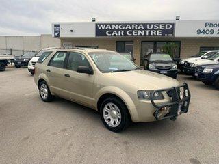 2007 Ford Territory SY TX (RWD) Gold 4 Speed Auto Seq Sportshift Wagon.