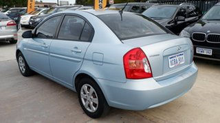 2007 Hyundai Accent MC Blue 4 Speed Automatic Sedan