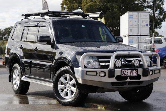 Used Mitsubishi Pajero NT MY10 VR-X Toowoomba, 2010 Mitsubishi Pajero NT MY10 VR-X Black 5 Speed Sports Automatic Wagon