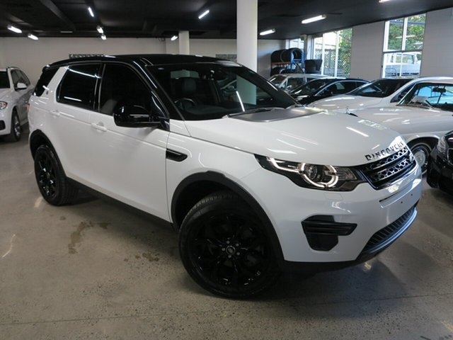 Used Land Rover Discovery Sport L550 17MY SE Albion, 2017 Land Rover Discovery Sport L550 17MY SE Fuji White 9 Speed Sports Automatic Wagon