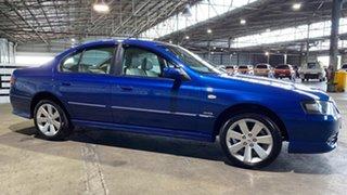 2008 Ford Fairmont BF Mk II Ghia 6 Speed Sports Automatic Sedan.