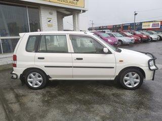 1998 Mazda 121 DW1051 Metro White/s2 4 Speed Automatic Hatchback