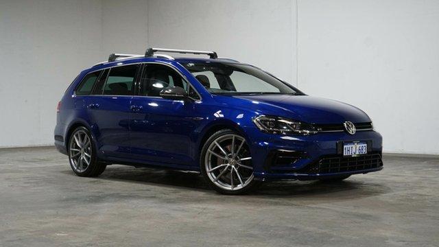 Used Volkswagen Golf 7.5 MY18 R DSG 4MOTION Wolfsburg Edition Welshpool, 2017 Volkswagen Golf 7.5 MY18 R DSG 4MOTION Wolfsburg Edition Blue Metallic 7 Speed