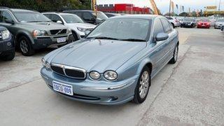 2002 Jaguar X-Type X400 SE Blue 5 Speed Automatic Sedan.