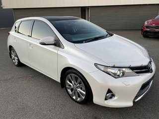 2013 Toyota Corolla ZRE182R Levin S-CVT ZR White 7 Speed Constant Variable Hatchback.