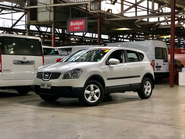 Used Nissan Dualis J10 ST X-tronic AWD Mile End South, 2007 Nissan Dualis J10 ST X-tronic AWD White 6 Speed Constant Variable Hatchback
