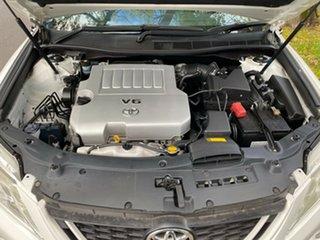 2015 Toyota Aurion GSV50R Sportivo Crystal Pearl 6 Speed Sports Automatic Sedan.