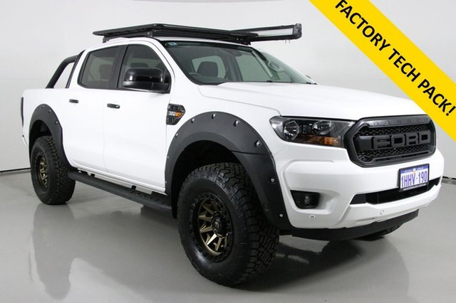 Used Ford Ranger PX MkIII MY19 XLS 3.2 (4x4) Bentley, 2019 Ford Ranger PX MkIII MY19 XLS 3.2 (4x4) White 6 Speed Manual Double Cab Pick Up