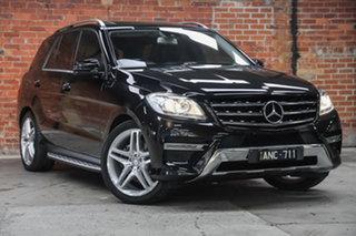 2014 Mercedes-Benz M-Class W166 MY805 ML250 BlueTEC 7G-Tronic + Black 7 Speed Sports Automatic Wagon.