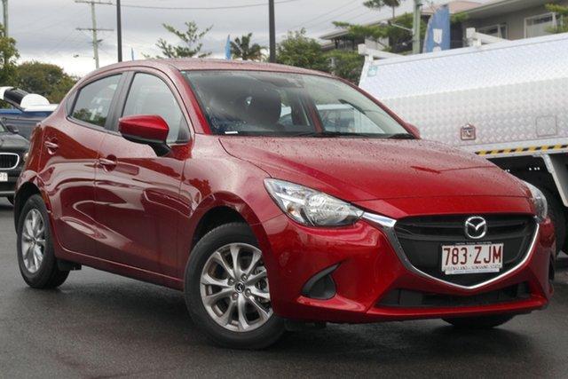 Used Mazda 2 DJ2HA6 Maxx SKYACTIV-MT Mount Gravatt, 2018 Mazda 2 DJ2HA6 Maxx SKYACTIV-MT Red 6 Speed Manual Hatchback