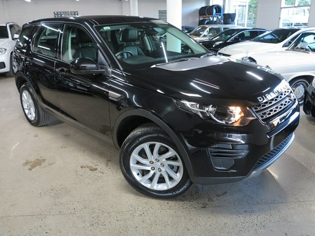 Used Land Rover Discovery Sport L550 18MY SE Albion, 2018 Land Rover Discovery Sport L550 18MY SE Black 9 Speed Sports Automatic Wagon