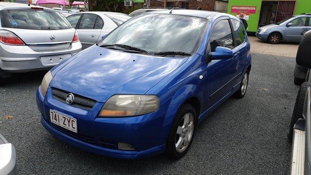Used Holden Barina TK MY07 Underwood, 2007 Holden Barina TK MY07 Blue Manual Hatchback