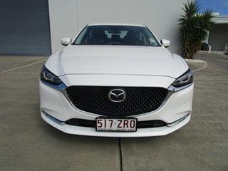 2020 Mazda 6 GL1033 GT SKYACTIV-Drive White 6 Speed Sports Automatic Sedan.