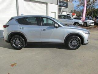 2018 Mazda CX-5 KF4WLA Touring SKYACTIV-Drive i-ACTIV AWD Silver 6 Speed Sports Automatic Wagon.