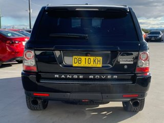 2009 Land Rover Range Rover Sport L320 10MY Super Charged Black 6 Speed Sports Automatic Wagon.