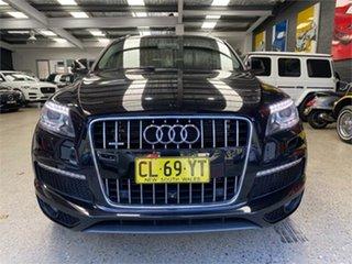 2013 Audi Q7 4L TDI Black Sports Automatic Wagon.
