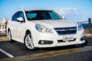 2013 Subaru Liberty B5 MY14 2.5i Lineartronic AWD White 6 Speed Constant Variable Sedan.