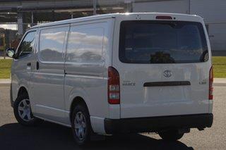 2011 Toyota HiAce TRH201R MY11 LWB White 5 Speed Manual Van.