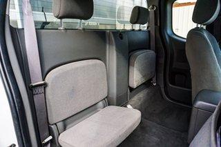 2010 Nissan Navara D40 RX King Cab White 6 Speed Manual Cab Chassis