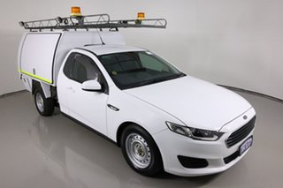 2016 Ford Falcon FG X (LPi) White 6 Speed Automatic Cab Chassis