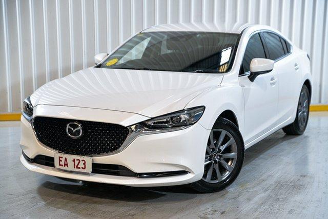 Used Mazda 6 GL1031 Sport SKYACTIV-Drive Hendra, 2018 Mazda 6 GL1031 Sport SKYACTIV-Drive White 6 Speed Sports Automatic Sedan