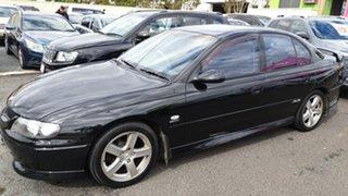 2001 Holden Commodore VX SS Black 4 Speed Automatic Sedan.