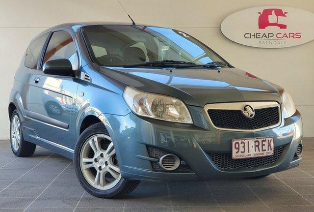 Used Holden Barina TK MY10 Brendale, 2010 Holden Barina TK MY10 Grey 5 Speed Manual Hatchback