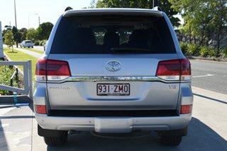 2016 Toyota Landcruiser VDJ200R Sahara Silver Pearl 6 Speed Sports Automatic Wagon