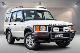 1999 Land Rover Discovery II Td5 White 5 Speed Manual Wagon.