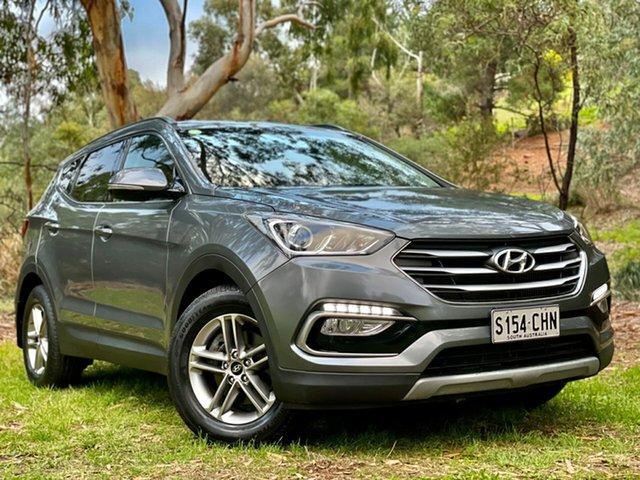 Used Hyundai Santa Fe DM3 MY17 Active Reynella, 2017 Hyundai Santa Fe DM3 MY17 Active Grey 6 Speed Sports Automatic Wagon