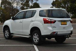 2014 Isuzu MU-X MY14 LS-M Rev-Tronic 4x2 White 5 Speed Sports Automatic Wagon