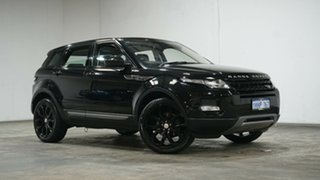 2014 Land Rover Range Rover Evoque L538 MY15 Pure Tech Black 9 Speed Sports Automatic Wagon.