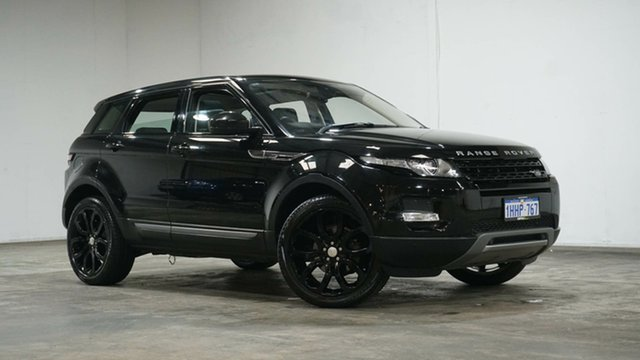 Used Land Rover Range Rover Evoque L538 MY15 Pure Tech Welshpool, 2014 Land Rover Range Rover Evoque L538 MY15 Pure Tech Black 9 Speed Sports Automatic Wagon