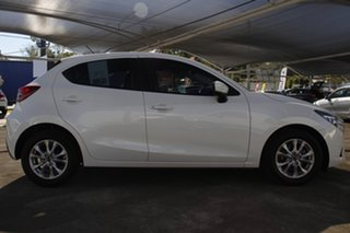 2018 Mazda 2 DJ2HAA Maxx SKYACTIV-Drive White 6 Speed Sports Automatic Hatchback.