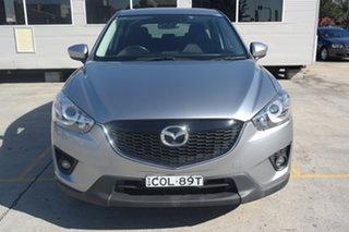2013 Mazda CX-5 KE1031 MY13 Maxx SKYACTIV-Drive AWD Silver 6 Speed Sports Automatic Wagon.