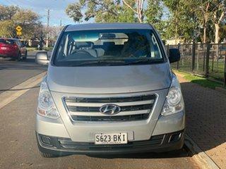 2016 Hyundai iLOAD TQ3-V Series II MY17 Crew Cab Silver 5 Speed Automatic Van.