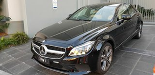 2015 Mercedes-Benz CLS400 218 MY15 Black 7 Speed Automatic G-Tronic Coupe.