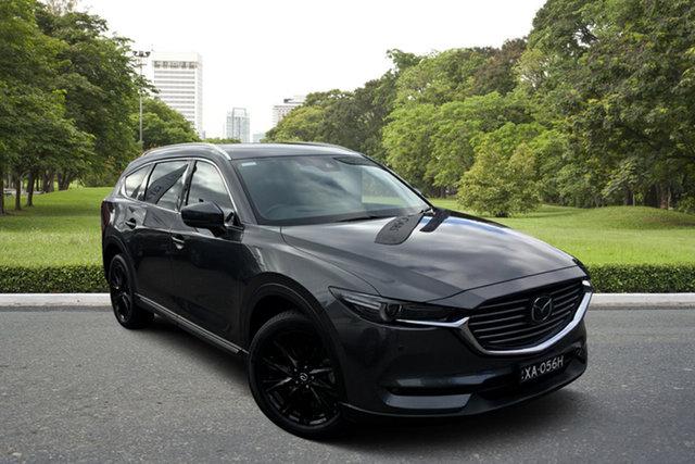 Used Mazda CX-8 KG4W2A Asaki SKYACTIV-Drive i-ACTIV AWD Paradise, 2018 Mazda CX-8 KG4W2A Asaki SKYACTIV-Drive i-ACTIV AWD Grey 6 Speed Sports Automatic Wagon