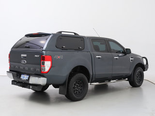 2014 Ford Ranger PX XLT 3.2 (4x4) Grey 6 Speed Manual Double Cab Pick Up