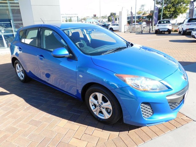 Used Mazda 3 BL10F2 MY13 Neo Activematic Toowoomba, 2012 Mazda 3 BL10F2 MY13 Neo Activematic Sky Blue 5 Speed Sports Automatic Hatchback